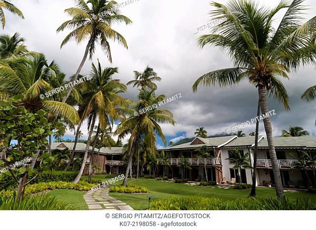 Four Season Hotel, Pinney's beach, Nevis, Caribbean