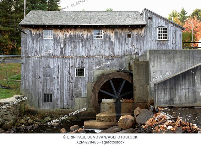 Water wheel sawmill Stock Photos and Images | agefotostock