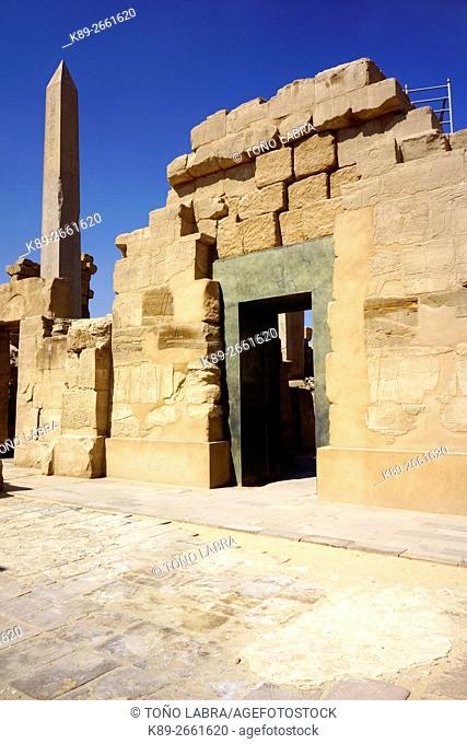 Karnak Temple. Upper Egypt