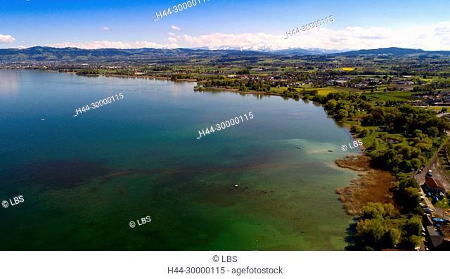 Luftaufnahme der Gemeinde Egnach am Bodensee