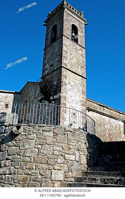 St Maria de Naves bell, Romanesque, Solsones, Catalonia, Spain