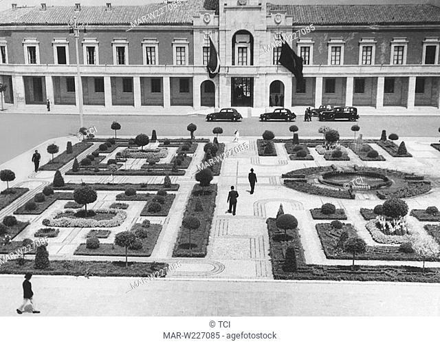 italy, littoria, italian garden, 1930-40