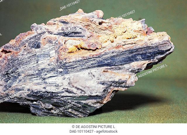 Antimonite or Stibnite, sulphide