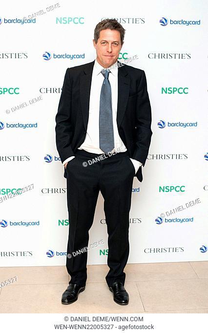 Paddington Trail auction held at Christie's in London - Arrivals Featuring: Hugh Grant Where: London, United Kingdom When: 10 Dec 2014 Credit: Daniel Deme/WENN
