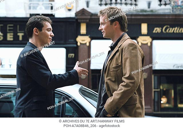 Match point  Year: 2005 USA Jonathan Rhys Meyers, Rupert Penry-Jones  Director: Woody Allen Photo: Clive Coote. It is forbidden to reproduce the photograph out...