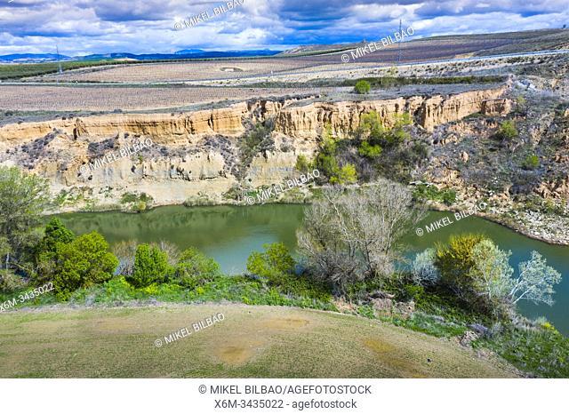 Watercourse. Navarre, Spain, Europe