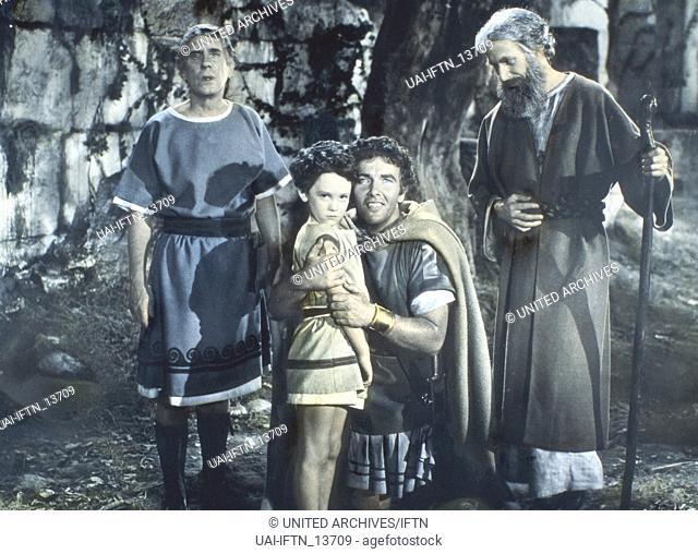 The Last Days Of Pompeii, aka: Der Untergang von Pompeji, USA 1935, Regie: Ernest B. Schoedsack, Merian C. Cooper, Darsteller: Preston Foster (3. v. l