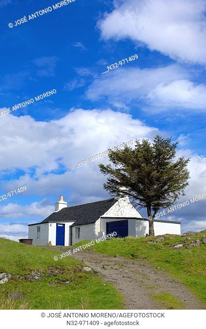 Grasspoint Cottage, Mull, Inner Hebrides, Argyll and Bute, Scotland, UK