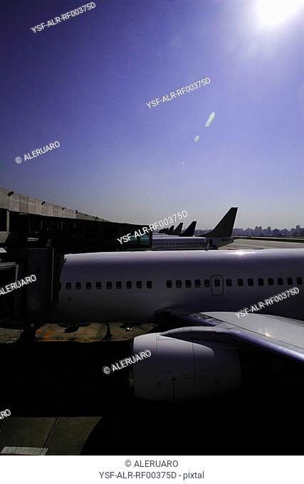 Aircraft, Congonhas Airport, São Paulo, Brazil