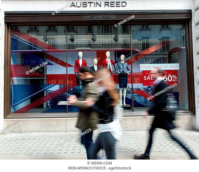 Austin Reed Goes Into Administration Putting Thousands Of Jobs At Risk Stock Photo Picture And Rights Managed Image Pic Wen Wenn23790025 Agefotostock