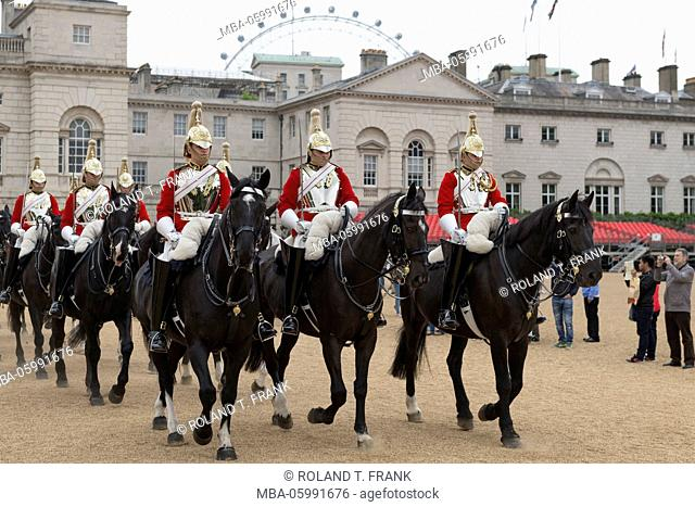 England, London, Horse Guards is a building between Whitehall and Horse Guards Parade