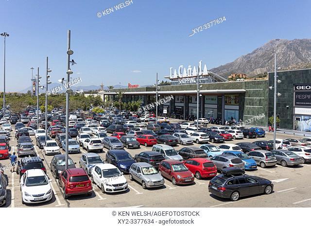 La Canada shopping centre, Marbella, Costa del Sol, Malaga Province, Andalusia, southern Spain