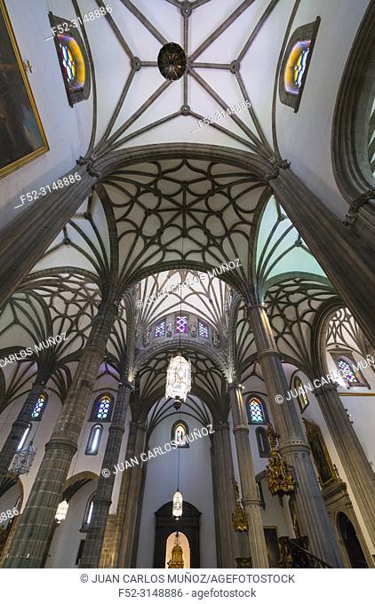 Santa Ana cathedral, Santa Ana square, Vegueta neighborhood, Las Palmas city, Gran Canaria Island, The Canary Islands, Spain, Europe