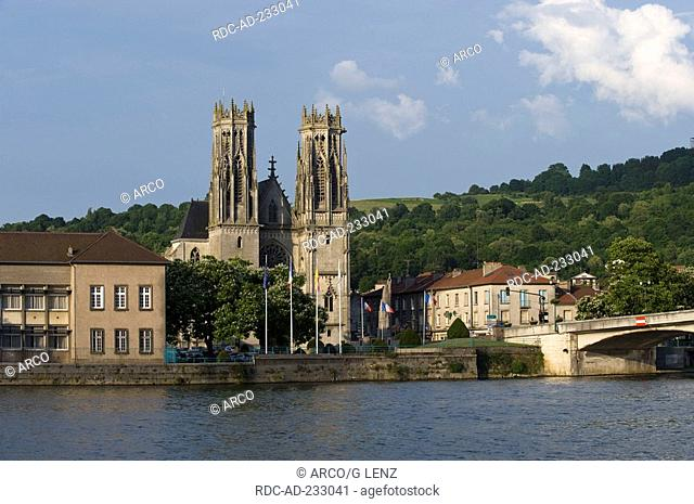 Church Saint Martin, Pont a Mousson, Luneville, Lorraine, France