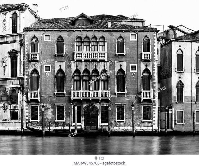 palazzo barbarigo nani mocenigo, venice 1930-40