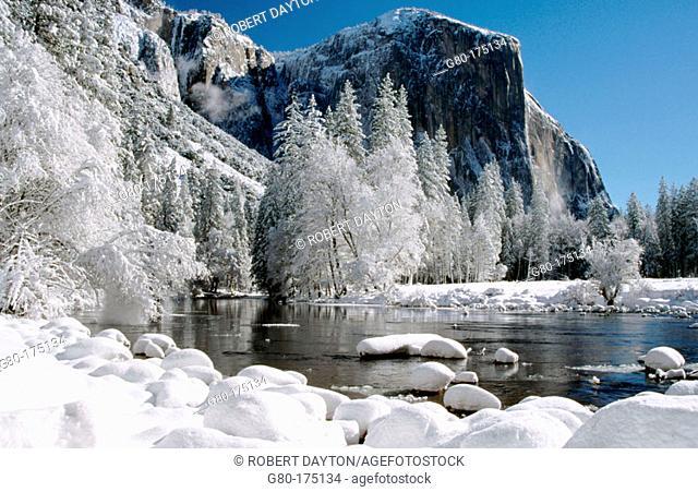 Yosemite National Park, winter. California. USA