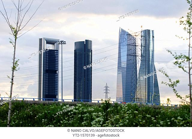CTBA s a business park near Paseo de la Castellana in Madrid Originally known as Madrid Arena, the consortium of the four towers owners decided to adopt a new...