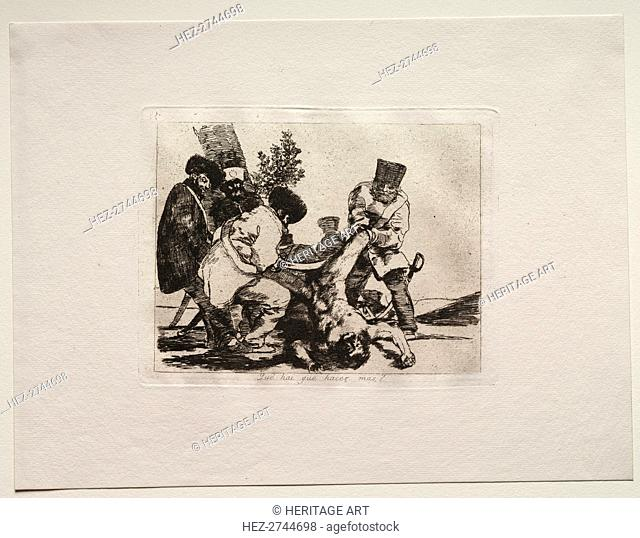 The Horrors of War: What More Can Be Done?. Creator: Francisco de Goya (Spanish, 1746-1828)