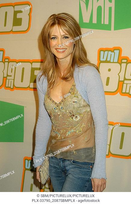 Kelly Rowan at the VH-1 Big In '03, at the Universal Amphitheatre in Universal City, CA. The event took place on Thursday, November 20, 2003