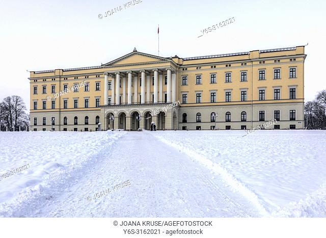 Oslo, Royal Palace, Norway, Scandinavia, Europe