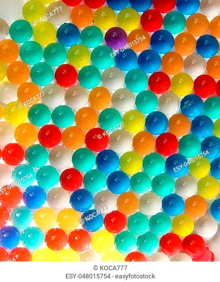 nice background of different colors balls