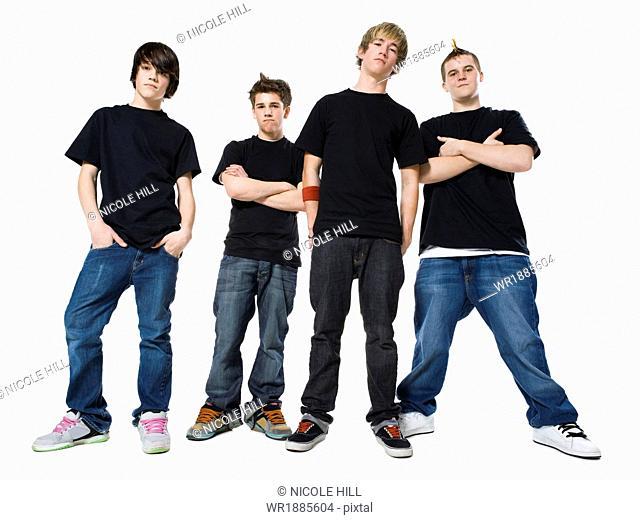 teenage rock band