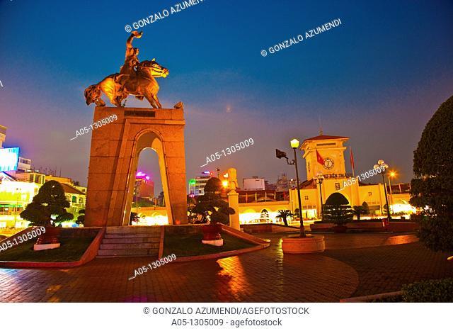 Ho Chi Minh City (formerly Saigon). South Vietnam