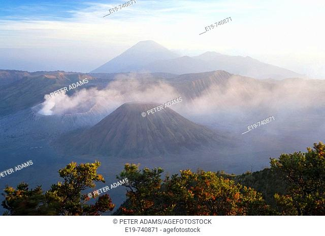 Bromo-Tengger-Semeru National Park, Bromo Volcano, Java, Indonesia