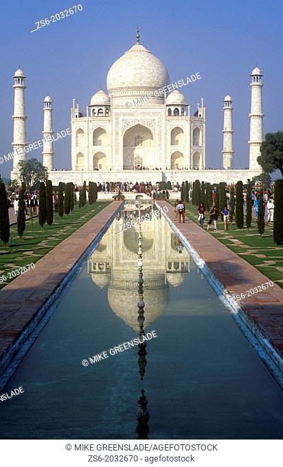Early morning , Taj Mahal, Agra, Uttar Pradesh, India