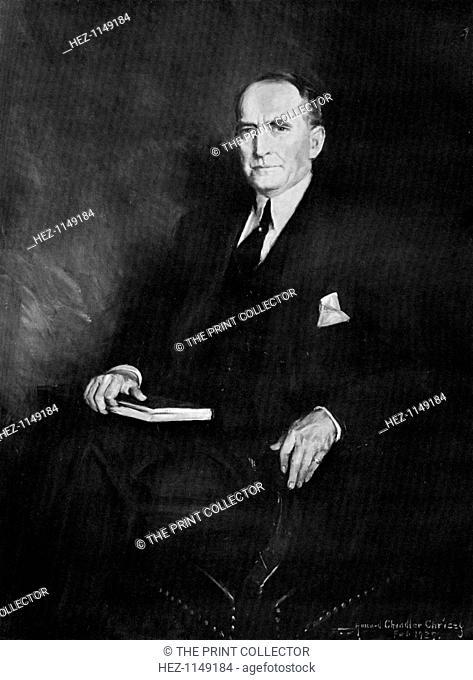 William Brockman Bankhead, Speaker of the House of Representatives, c1937. Portrait of American politician Bankhead, (1874-1940)