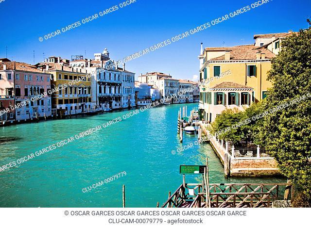 Grand Canal, Venice, Veneto, Italy, Western Europe