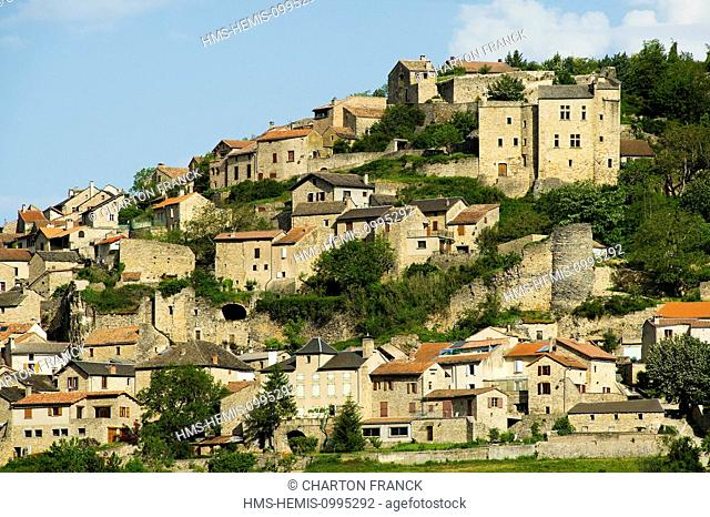 France, Aveyron, Compeyre, in the Tarn Valley