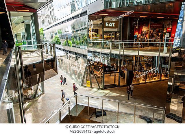 United Kingdom, England, London. New Change commercial center