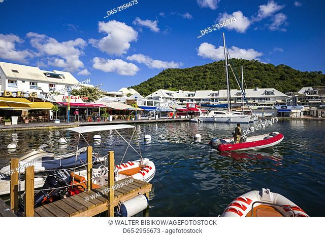 French West Indies, St-Martin, Marigot, Port La Royale Marina