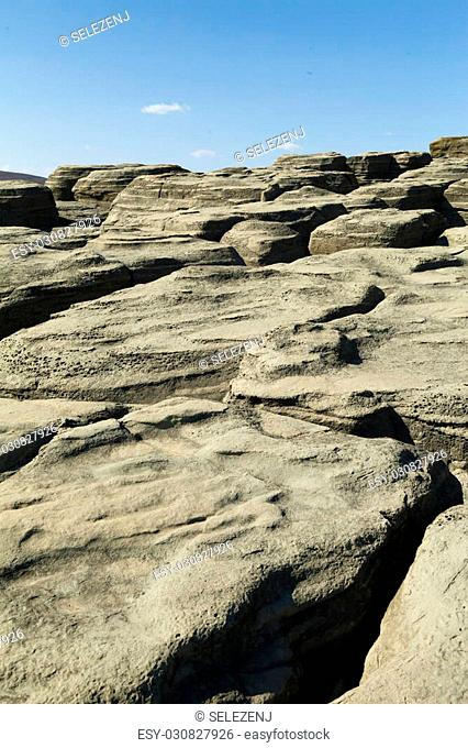 Rocks and stones are centuries on the same ground