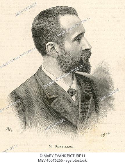 ALPHONSE BERTILLON French criminologist A portrait