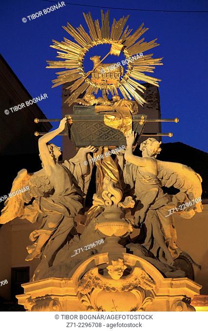 Hungary, Gyor, Ark of the Covenant, Frigyszekrény szobor