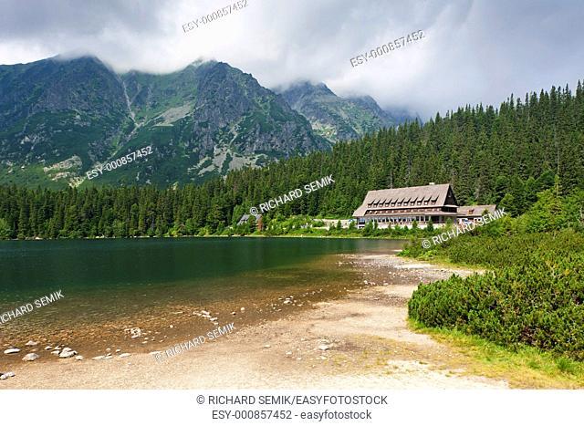 Popradske Tarn, Vysoke Tatry High Tatras, Slovakia