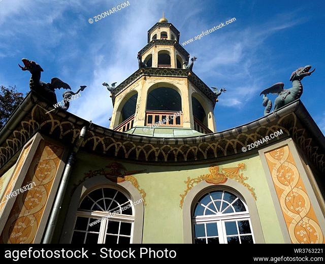 Drachenhaus im Schlosspark Sanssouci, Potsdam, Brandenburg, Deutschland