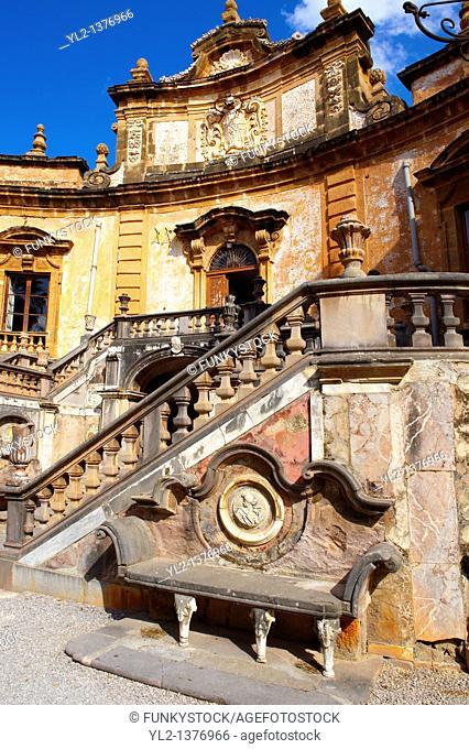 Garden of Baroque Villa Palagonia, Baghera Sicily
