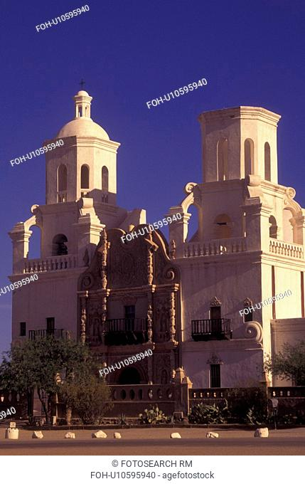 Tucson, AZ, Arizona, Mission San Xavier del Bac