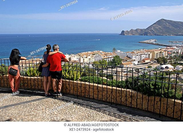 viewpoint, Altea, Alicante, Spain
