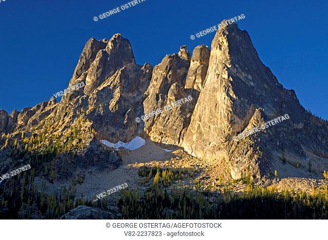Liberty Bell Mountain from Washington Pass Overlook, Okanogan National Forest, Washington