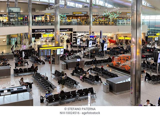 Airport Lounge, Heathrow Airport, London, United Kingdom