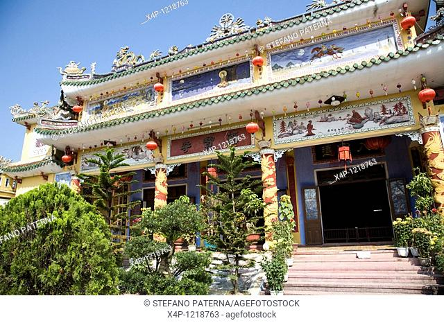 Mung Xuan Di Lac, Chinese assembly hall with temple, Hoi An, Vietnam