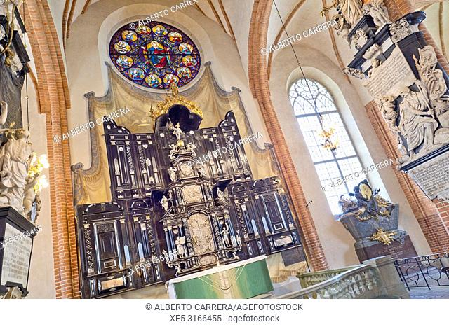 Cathedral of Saint Nicholas, Storkyrkan, Stockholm, Sweden, Scandinavia, Europe