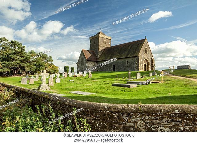 St Martha-on-the-hill church near Chilworth, Surrey, England