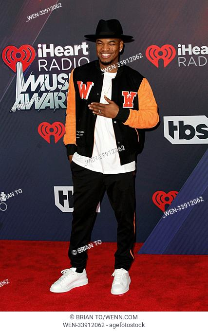 Celebrities attend 2018 iHeartRadio Music Awards at The Forum. Featuring: Ne-Yo Where: Los Angeles, California, United States When: 11 Mar 2018 Credit: Brian...