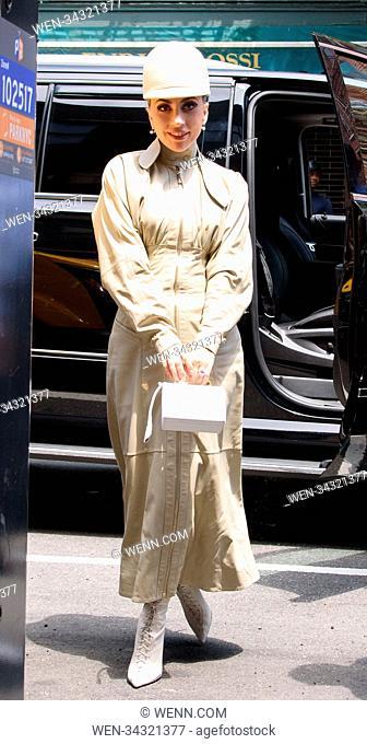 Lady Gaga Sighting in NYC Featuring: Lady Gaga Where: New York, New York, United States When: 30 May 2018 Credit: WENN.com