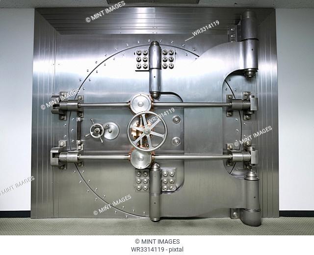 Bank Vault Door Exterior